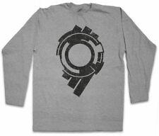 SECTION 9 LOGO LANGARM T-SHIRT Logo Sign Zeichen Ghost in the Hanka Shell Firma