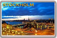 STOCKHOLM FRIDGE MAGNET SOUVENIR IMÁN NEVERA