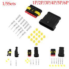Plug  1P 2P 3P 4P 5P 6P  Automotive Waterproof Connectors Electrical Wire