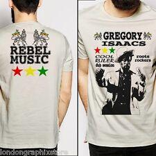 Reggae, T Shirt, Gregory Isaacs, Dancehall, Rasta, Yellowman, King Tubby, cotton