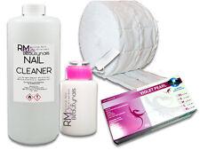 1L Cleaner Spar Set 500 Zelletten Dispender Flasche Nitril Handschuhe Iso