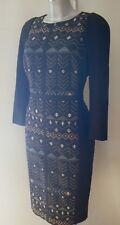 TED BAKER Mileae Deco Sparkle Jacquard Dress Size 3 -12  4 - 14 -  5 - 16 Tags
