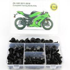 Puig 17-18 Kawasaki ZX1000ABS Pro Frame Sliders Black