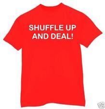t-shirt Shuffle up & Deal  texas hold em bluff 7 stud 5 card Omaha
