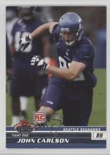 2008 Topps Stadium Club #135 John Carlson Seattle Seahawks RC Football Card