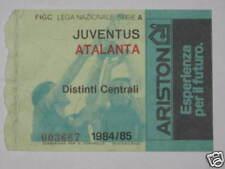 JUVENTUS - ATALANTA  BIGLIETTO TICKET 1984 / 85