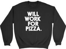 Funcionará para Niños Niñas Niños Childrens Sudadera pizza