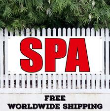Banner Vinyl Spa Advertising Sign Flag Aromatherapy Facial Reflexology Salon