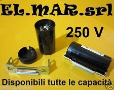 Condensatore per avviamento motore elettrico monofase 250 V