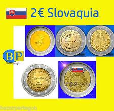 Slovakia a 2 euros conmemorativas  monedas € agrupa tus compras  Eslovaquia