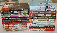 Huge selection of english manga graphic novels you choose save on shipping !