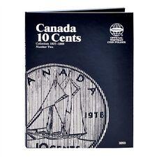 Whitman Coin Folder 3203 CANADA 10 Cents 1937-1989 Volume 2