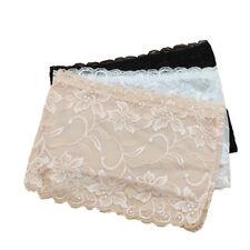 3X Women Lace Strapless Bandeau Boob Tube Crop Top Bra Chest Wrap Vest Lingerie