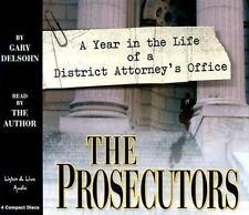 The Prosecutors 4-CD Audiobook - by Gary Delsohn - NEW - FREE SHIPPING