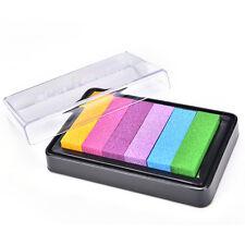 Aceite gradiente base de tinta sello Signet para arte de madera de papelSC