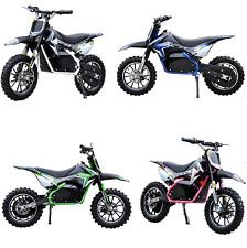 Renegade 50R 500W 36V Electric Mini Dirt Bike Motocross Scrambler - 4 Colours