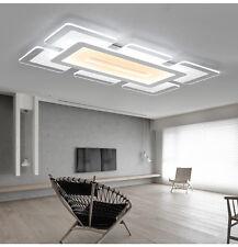 Rectangular Acrylic Modern LED Ceiling Light Living Room Bedroom Square Lighting