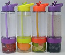 Fruit Infuser Water Bottles in 3 colours NEAT IDEAS