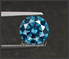 Diamant Brillant Farbe blau 1-3 mm / Si-P / 0,01-0,10 ct, 100% echte Diamanten