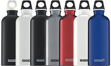 SIGG Flasche 0.6 l Trinkflasche Schwarz Weiss Silber Rot Blau Traveller Sport
