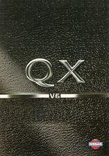 Nissan QX 1995 UK Market Foldout Sales Brochure 2.0 3.0 V6 S SE SEL Maxima