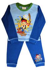 Disney - Jake Never Land Pirates OFICIAL CERTIFICADO Niño Azul Pijama Camisa Set