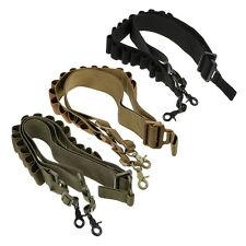 15 Shell Tactical Pistol Shotgun Shell Bandolier Sling Strap 12G 20G Ammo Holder