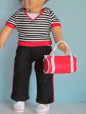 Last One! Sportswear Set: Hoodie, Pants, Tank Top, Shoes + Bag fit American Girl