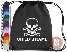 Personalizado pirata kit deportivo bolsa Elástico PE escuela - add infantil name