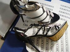 NIB Baby Phat Black Faran Heels Womens DESIGNER Shoes