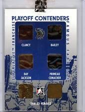 1/1 King Clancy Ace Bailey Hap Day Primeau Jackson Conacher ITG 6X Game Worn 1/1
