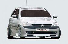Rieger Spoilerlippe für Opel Corsa C Vorfacelift / 2.Wahl / RIEGER-Tuning