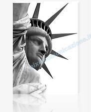 QUADRO MODERNO TELA ARREDO DESIGN NEW YORK STATUA DELLA LIBERTA