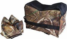 Front & Rear Rifle Air Gun Bench Rest Bag Hunting Target Swamper Camo E1650