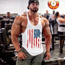 Gym Men Singlet Cotton Vests Training Tank Top Athletic Wear Men Tank Top