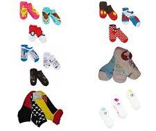 Women's 3-Pairs No-Show Socks Snoopy Hello Kitty Minnie Mouse Pikachu NWT