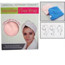 Microfiber Hair Wrap Towel Drying Bath Spa Head Cap Turban Wrap Twist Dry Shower
