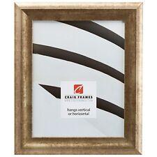 """Craig Frames Modern, 1.5"""" Gold Picture Frame"""