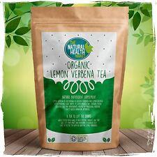 Organic Lemon Verbena Tea Bags •Vibrant Zesty Flavour • Rich In Antioxidants