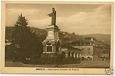 BRESCIA - MONUMENTO AD ARNALDO DA BRESCIA 1947