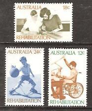 Australia # 523-525 Mnh Rehabilitation Of The Handicapped