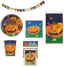 Halloween Tischdekoration Teller Becher Servietten Tischdecke Papier Kunststoff