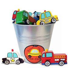JACK RABBIT WOODEN CARS - Around Town Fun Kids Little Wood Toy **NEW**