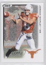 2010 SAGE Hit Silver #8 Jordan Shipley Texas Longhorns Rookie Football Card