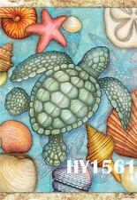 "Garden Flag-Turtle Shell Scenic-Yard Decor Banner 12X18""or 28X40""1561"