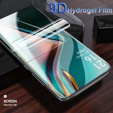 Para Oneplus 6 6T 7 pro 9D Hidrogel Película Cubierta Completa Delantero Trasero