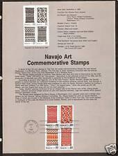 #2235-8 NAVAJO ART Blankets Handcrafts 1986 Page