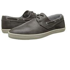 GBX Mens Lott 13727 Slip On Casual 2 Eye Vulcanized Oxford Sneakers Dk Gray 10 9