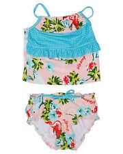 Girl's Billabong Waikiki Sherbet Tankini Swimsuit. Size 0,2,4. NWT, RRP $39.99.