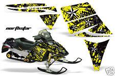 AMR RACING WRAP MXZ SKI-DOO REV SNOWMOBILE SLED GRAPHICS DECAL KIT 03-09 NY